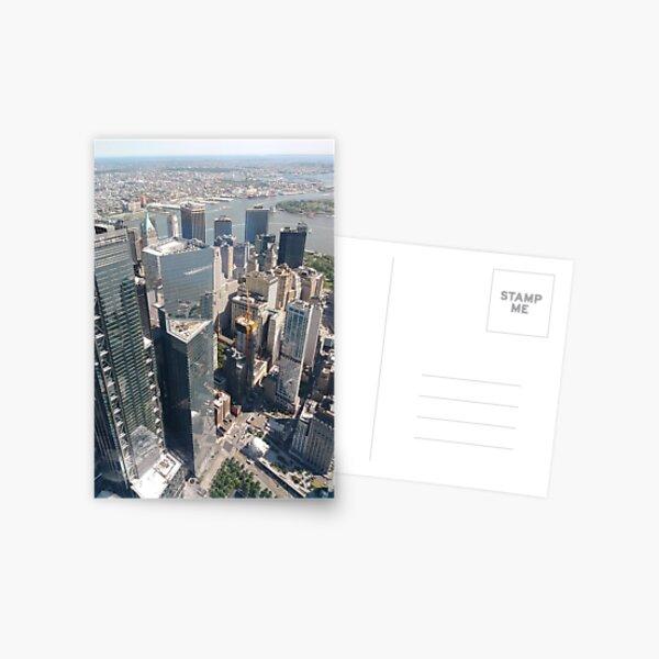 Manhattan, New York, NYC, #Manhattan, #NewYork, #UNC, skyscrapers, #skyscrapers Postcard