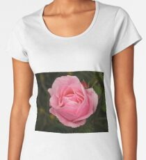 Pink Rose 1. Women's Premium T-Shirt