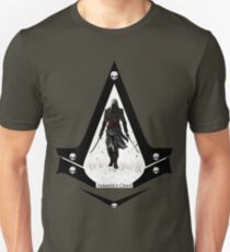 Assassins'Creed Black Flag Unisex T-Shirt