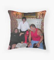 me an the occ boys Throw Pillow