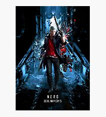 Devil May Cry 5 Nero Photographic Print
