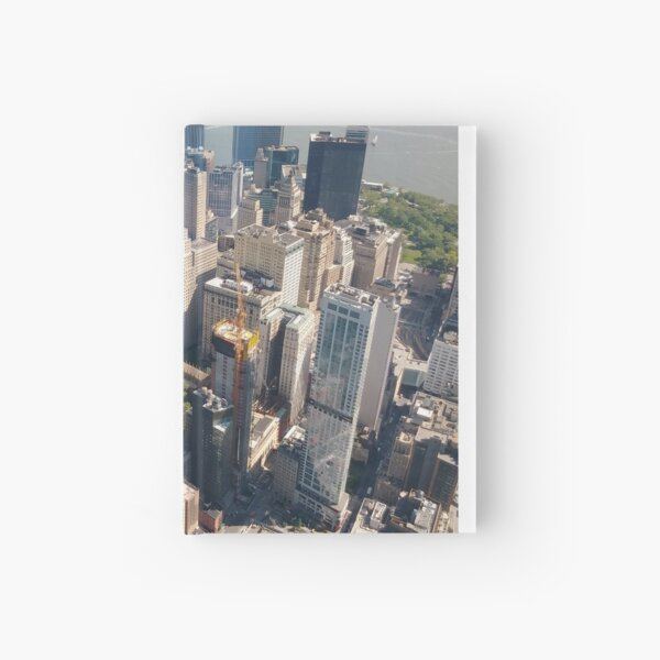 Manhattan, New York, NYC, #Manhattan, #NewYork, #NYC, skyscrapers, #skyscrapers Hardcover Journal