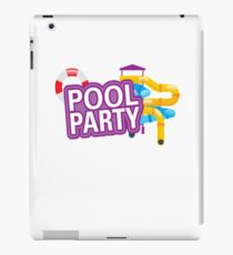 Summer Pool Party iPad-Hülle & Klebefolie