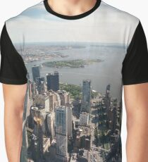 Manhattan, New York, NYC, #Manhattan, #NewYork, #NYC, skyscrapers, #skyscrapers, New York City, #NewYorkCity Graphic T-Shirt