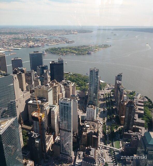 Manhattan, New York, NYC, #Manhattan, #NewYork, #NYC, skyscrapers, #skyscrapers, New York City, #NewYorkCity by znamenski
