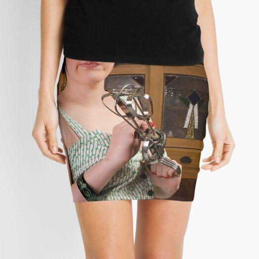 Domestic Nightmare Mini Skirt