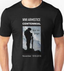 WWI Armistice Centennial Unisex T-Shirt