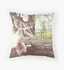 forest forts Throw Pillow
