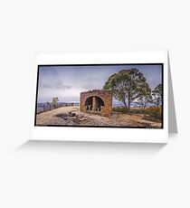 Hargraves Lookout Blackheath Greeting Card