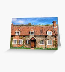 Turville - A Much Used Film Location - 3 Greeting Card