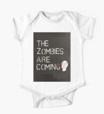 The Zombies are coming - Black One Piece - Short Sleeve