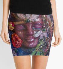 JEWELED GODDESS Mini Skirt