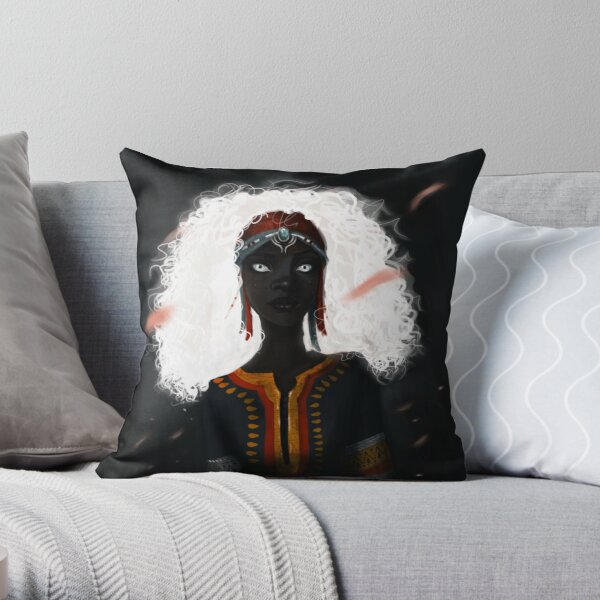 Zelié From Children of Blood and Bone Throw Pillow