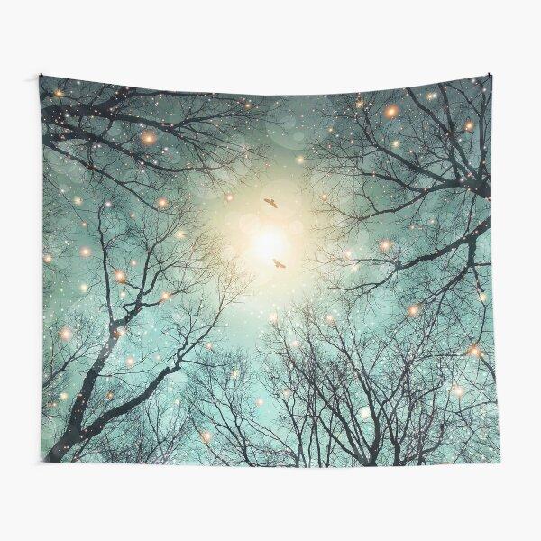Nature Blazes Tapestry