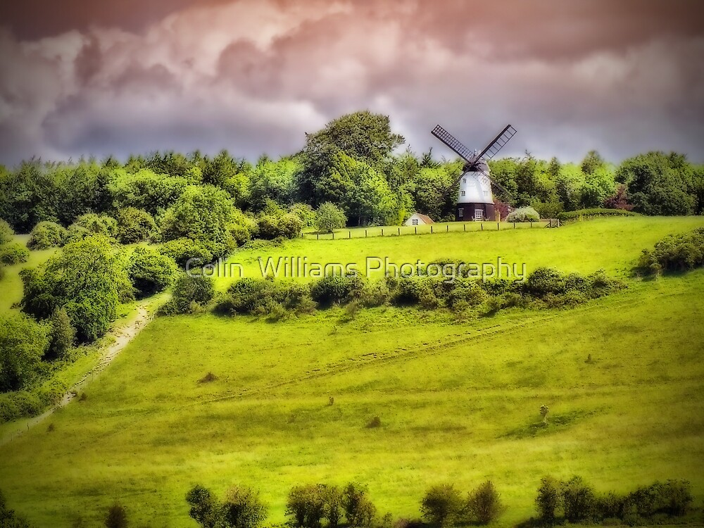 Cobstone Windmill - Turville - Orton by Colin  Williams Photography