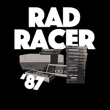 Classic Video Games / Rad Racer by BonafideIcon