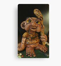 Troll Sculpture Canvas Print