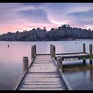 Wentworth Falls Jetty by STEPHEN GEORGIOU PHOTOGRAPHY