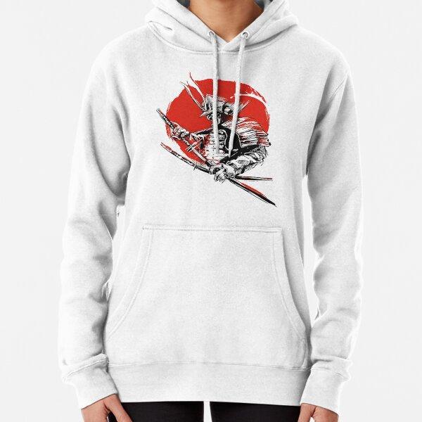 Sunset Samurai Warrior Pullover Hoodie