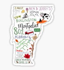 Vermont State Highlights Sticker