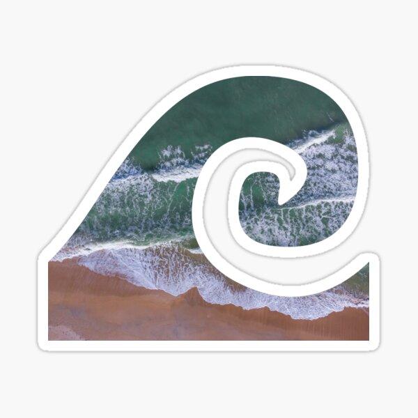 Florida Wave Outline Sticker