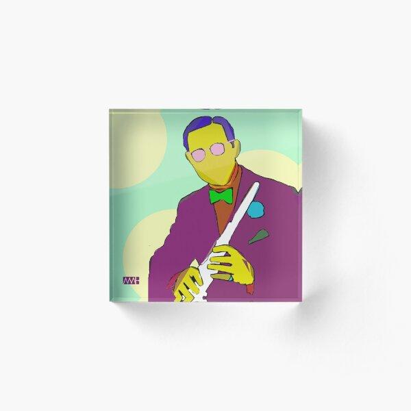 Benny Goodman Acrylic Block