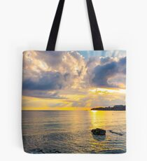 gorgeous sunrise at the seaside Tote Bag