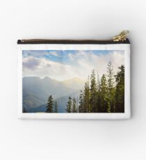 High Tarta mountains behind the trees Studio Pouch