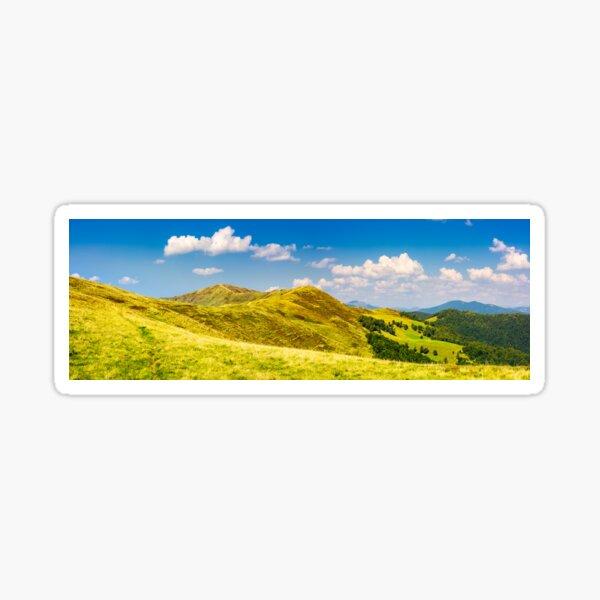 panorama of Krasna mountain ridge Sticker