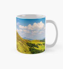 panorama of Krasna mountain ridge Mug