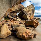 Dynamic Rock Swirl by Anthony Davey