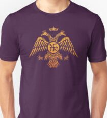 Byzantine Eagle Symbol Flag T-Shirt