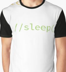 Funny Computer Science Programmer Eat Sleep Code T-Shirt Graphic T-Shirt