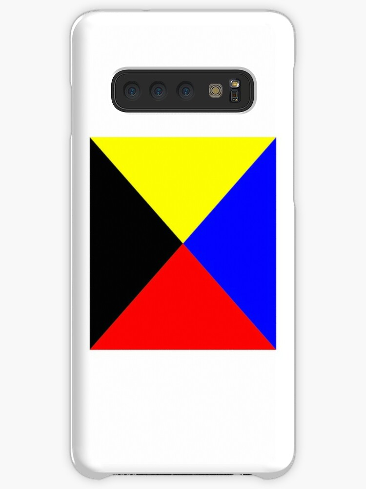 ''I require a tug'  ICS Zulu, International Code of Signals, ' Case/Skin  for Samsung Galaxy by TOM HILL - Designer