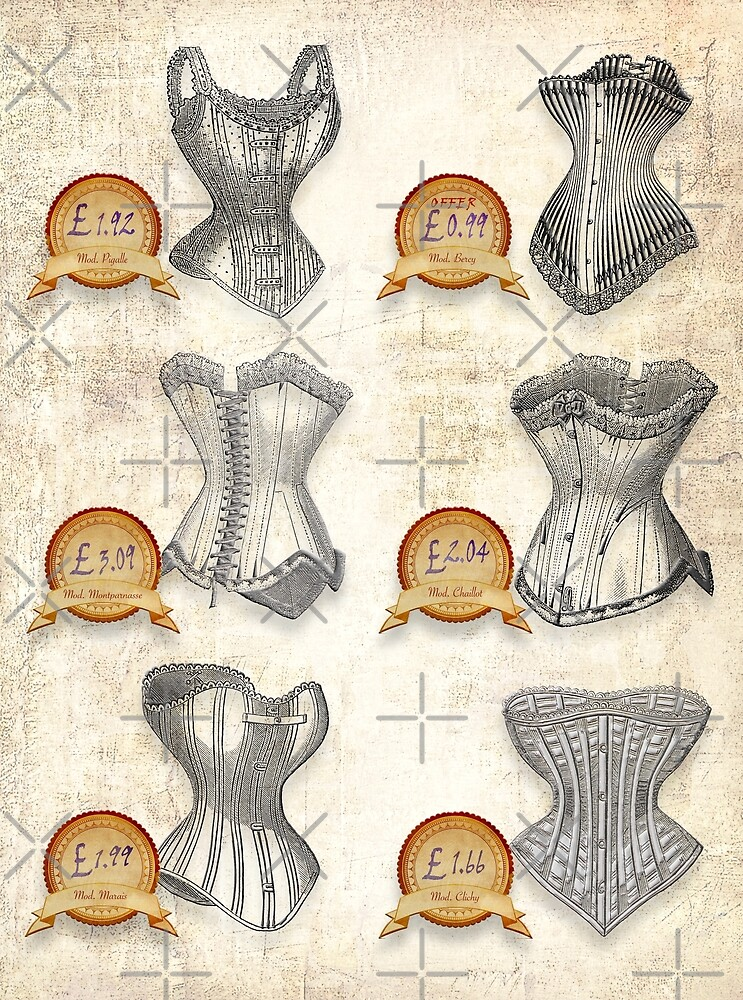 British Silk Corsets by PrivateVices