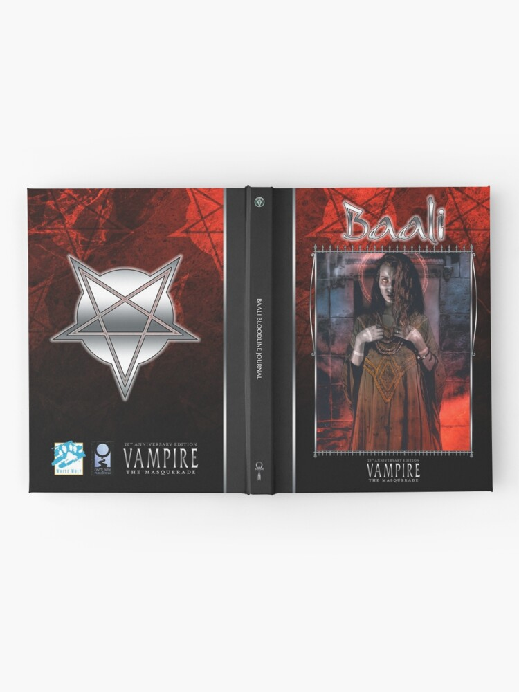 Alternate view of Masquerade Bloodline: Baali V20 Hardcover Journal