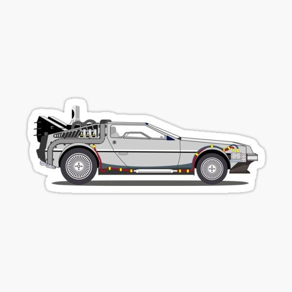 DeLorean - Retour vers le futur Sticker