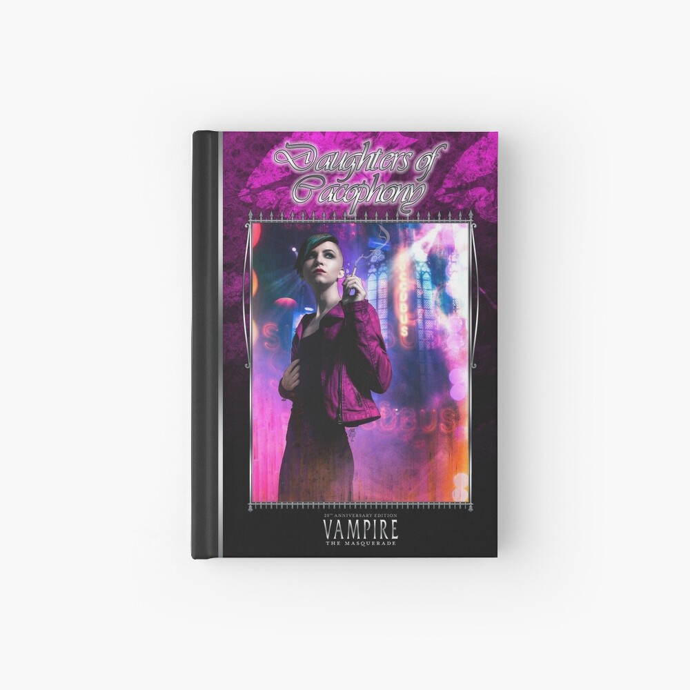 Masquerade Bloodline: Daughters of Cacophony V20 Hardcover Journal