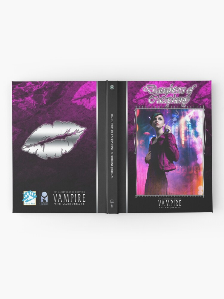 Alternate view of Masquerade Bloodline: Daughters of Cacophony V20 Hardcover Journal