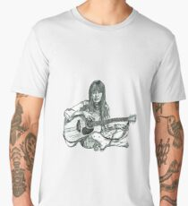 Joni Mitchell Men's Premium T-Shirt