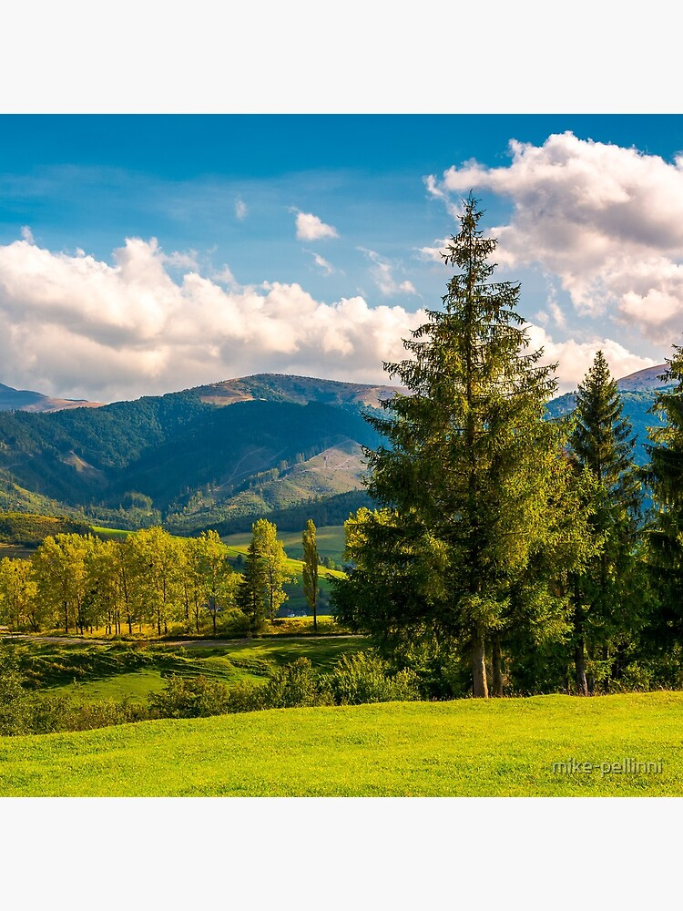 beautiful landscape in mountains by mike-pellinni