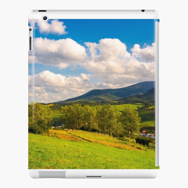 beautiful landscape in mountains iPad Snap Case