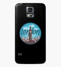 London Skyline Sticker Case/Skin for Samsung Galaxy