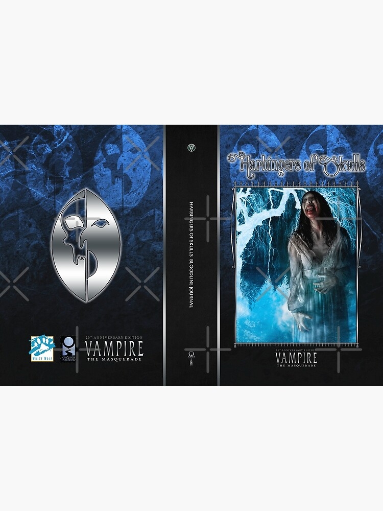 Masquerade Bloodline: Harbingers of Skulls V20 by TheOnyxPath