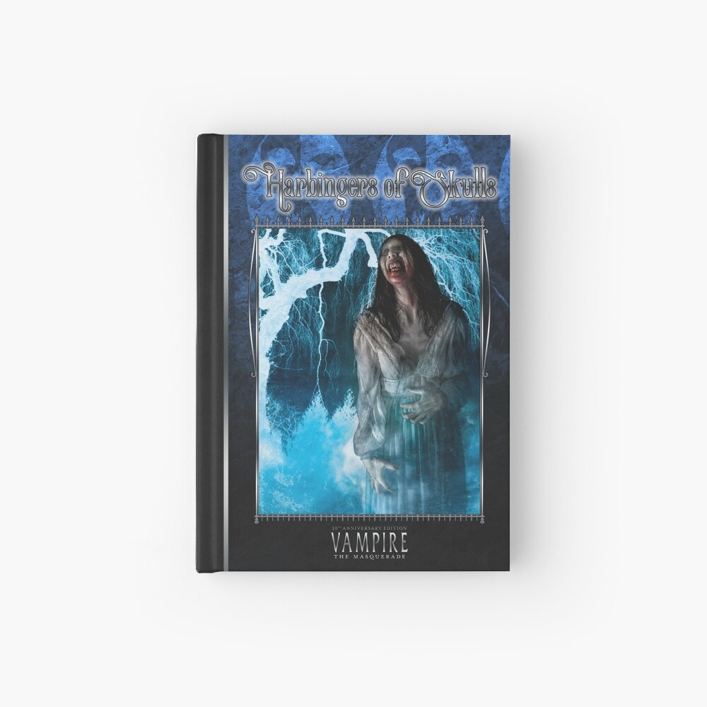Masquerade Bloodline: Harbingers of Skulls V20 Hardcover Journal
