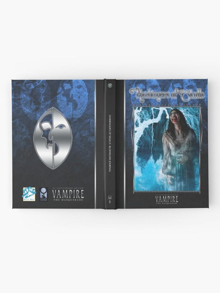 Alternate view of Masquerade Bloodline: Harbingers of Skulls V20 Hardcover Journal