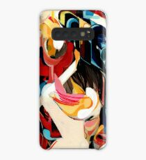 Expressive Abstract Composition painting  Case/Skin for Samsung Galaxy