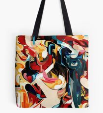 Expressive Abstract Composition painting  Tote Bag