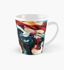 Expressive Abstract Composition painting  Tall Mug