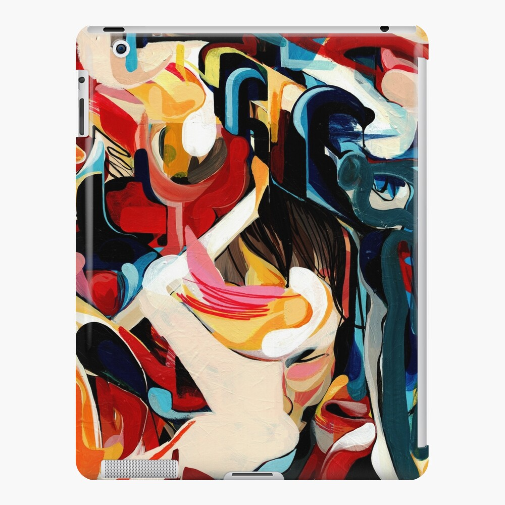 Expressive Abstract Composition painting  iPad Case & Skin